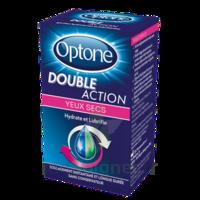 Optone Double Action Solution Oculaire Yeux Secs Fl/10ml à CLEON